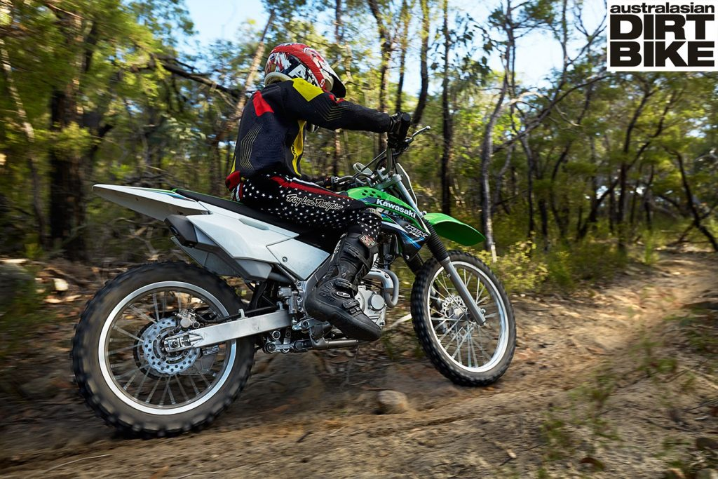 Excellent Kawasaki Klx140L Review Kids Corner Australasian Dirt Ocoug Best Dining Table And Chair Ideas Images Ocougorg