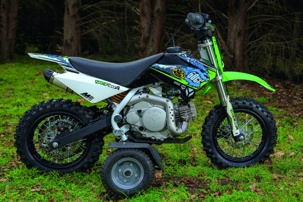 2015 YCF 50A Kids Test - Australasian Dirt Bike Magazine