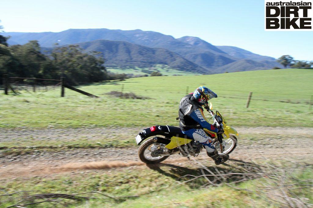 Suzuki DR-Z250 trail test
