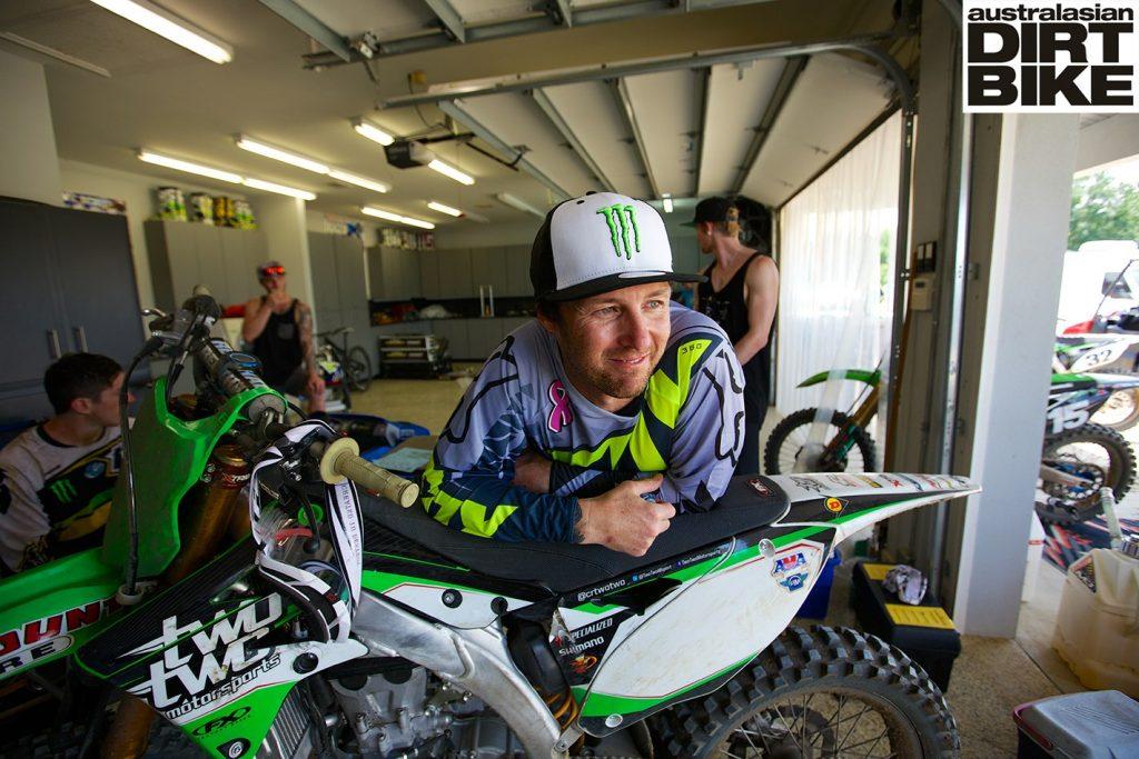 Chad Reed's TwoTwo Motorsports Kawasaki KX450F