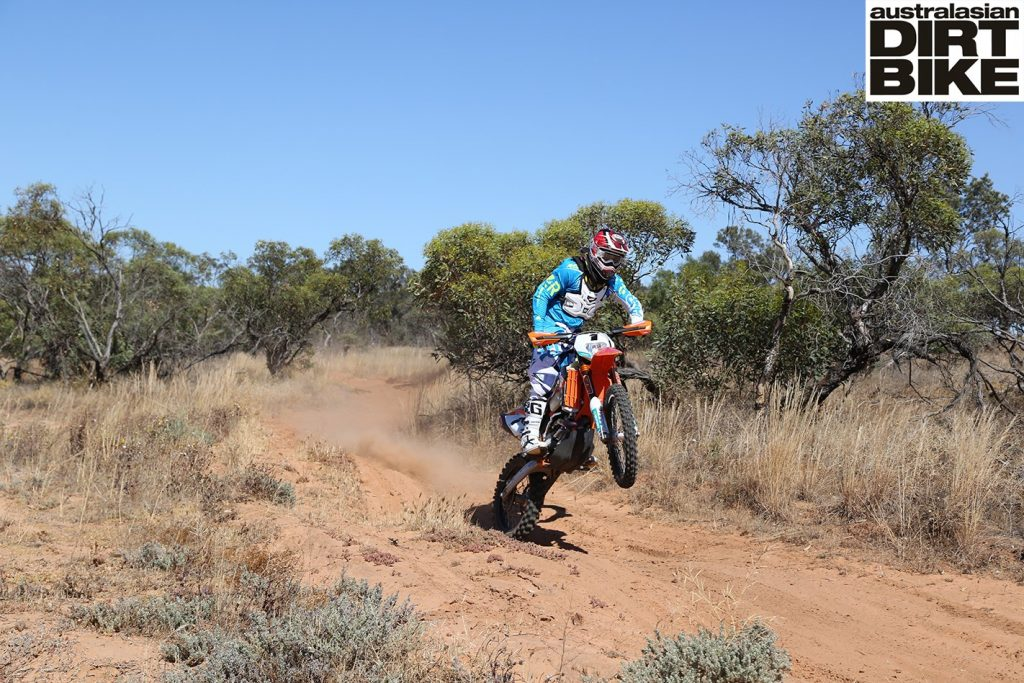 toby price's ktm 500 exc desert bike - australasian dirt bike magazine