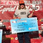 Jones and Tricker Lead Full Gas Sprint Enduro