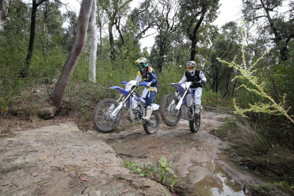 Sibling Rivalry: Yamaha YZ450F vs WR450F - Australasian Dirt