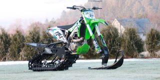 Kawasaki KX450F Snow Bike