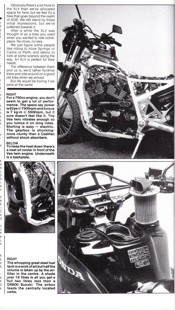 Honda XLV750