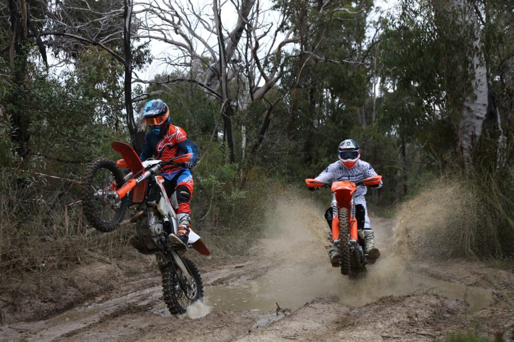 2018 ktm 350 exc f. fine 350 ktm 350 they are quite sensitive to change i cranked up the compression  and it was much better for me still softer than xcf suspension but not  throughout 2018 ktm 350 exc f