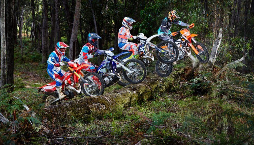 250cc Two Stroke Enduro Shootout Australasian Dirt Bike