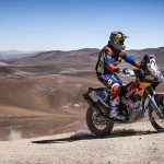 Matthias Walkner claims third on the toughest stage of the 2017 Atacama Rally