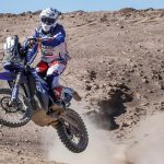 Yamaha Riders Battle Through The Longest Stage Of The Atacama Rally