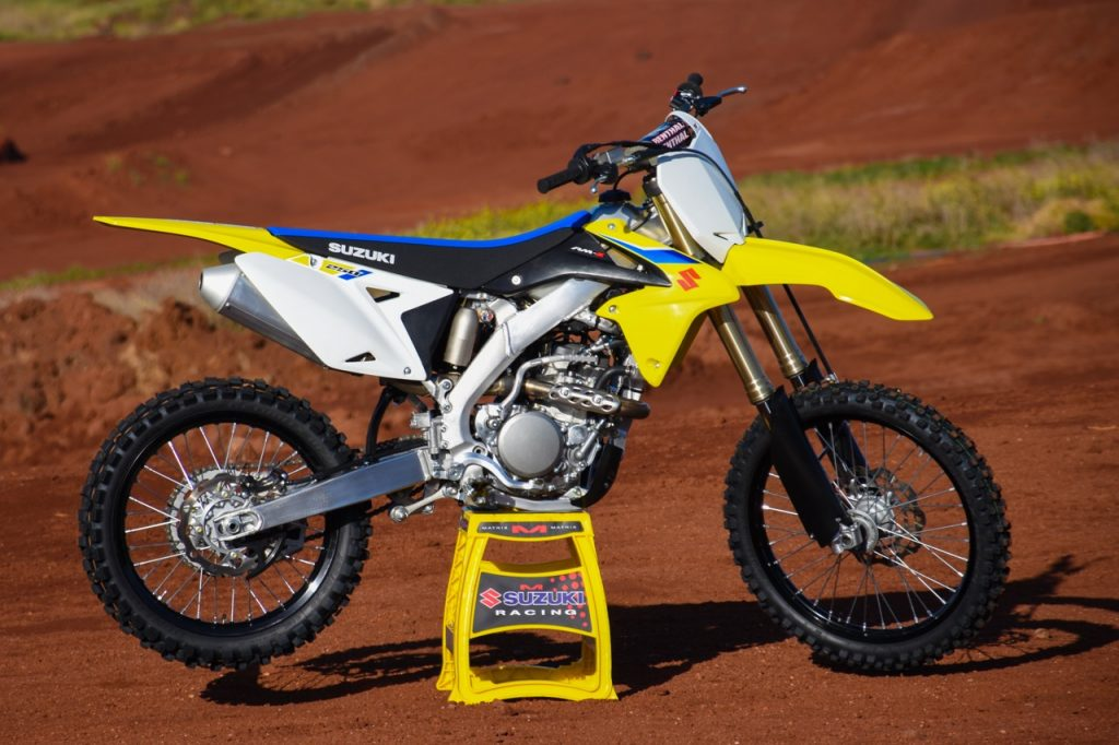 2018 suzuki dirt bikes. simple dirt 2018 suzuki rmz250 negatives in suzuki dirt bikes a