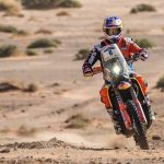 Toby Price fourth fastest in Stage 3