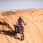 Honda sets the pace in Merzouga with a stage win and extends overall lead