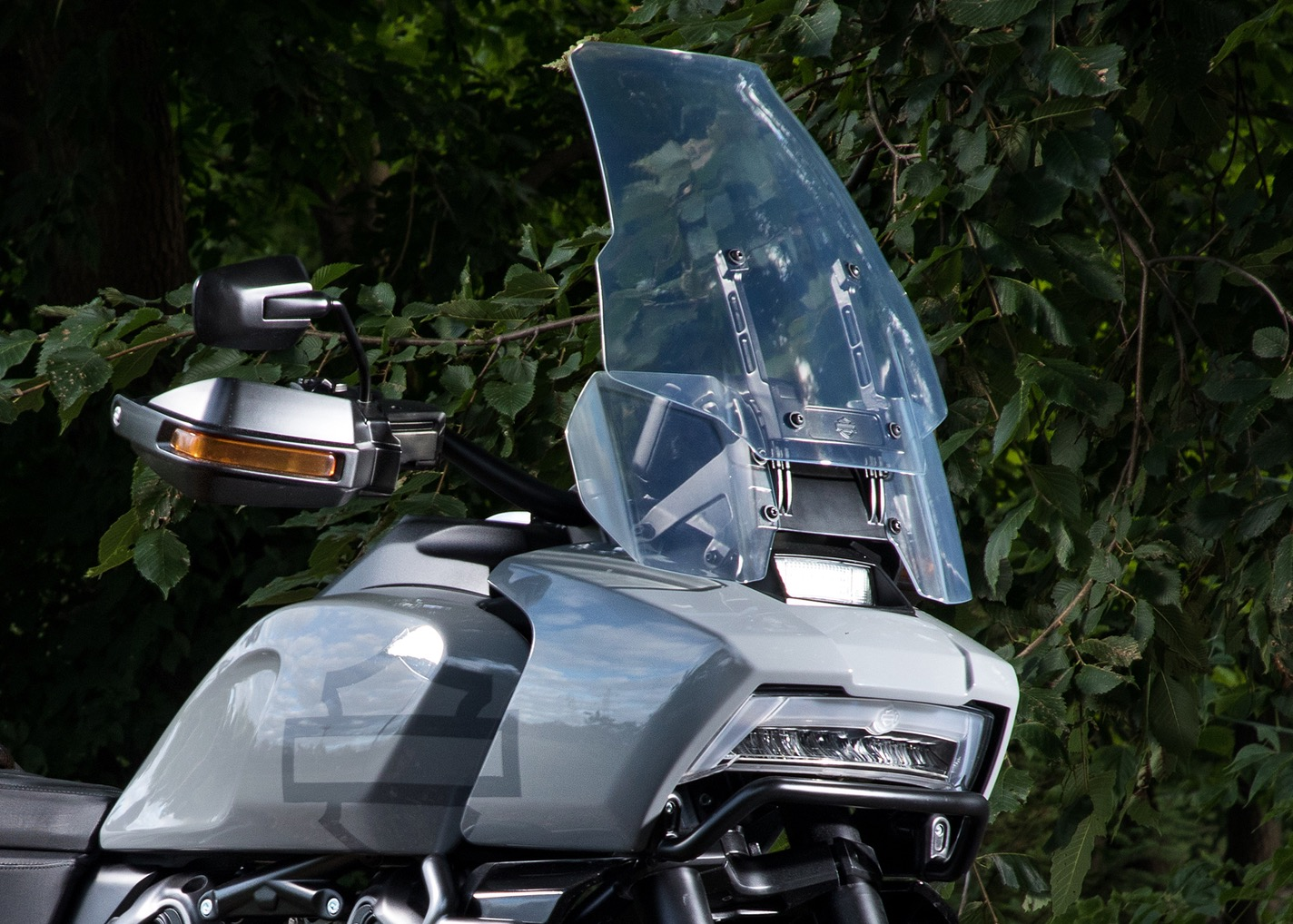 Pan America on New Engine Water Cooled Harley