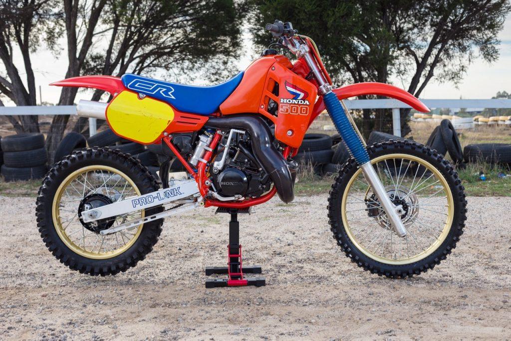 RETRO TEST I 1986 HONDA CR125 250 500 Australasian Dirt