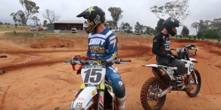 VIDEO: Dean Wilson training...