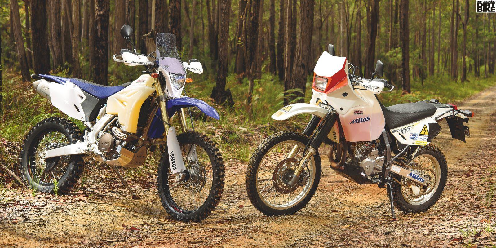 Budget Blasters - Yamaha WR450F vs Suzuki DR650SE