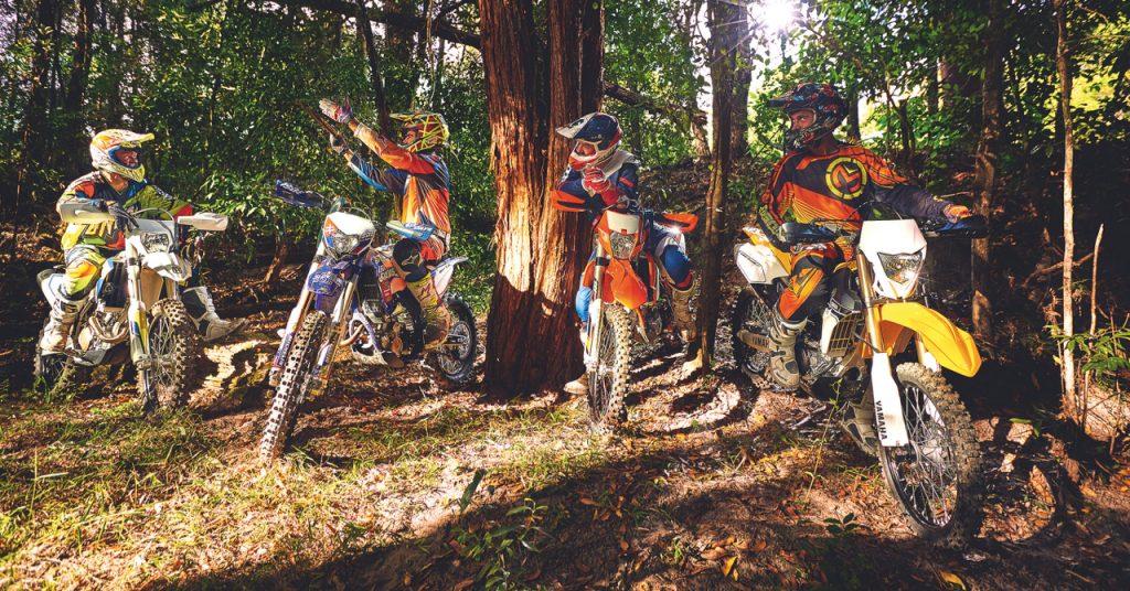 250F Enduro Shootout - Australasian Dirt Bike Magazine