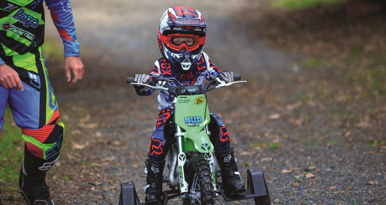 2015 YCF 50A Kids Test - Australasian Dirt Bike Magazine