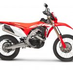 Honda recalls CRF450L due to faulty horn bracket