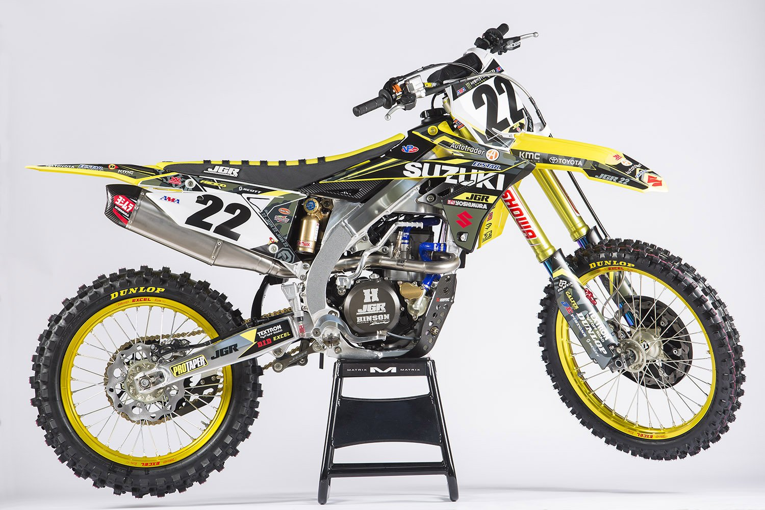 gallery chad reed 39 s factory suzuki rm z450 australasian. Black Bedroom Furniture Sets. Home Design Ideas