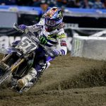 Two Top 10s For Monster Energy Yamaha Factory Racing Team At Anaheim 2