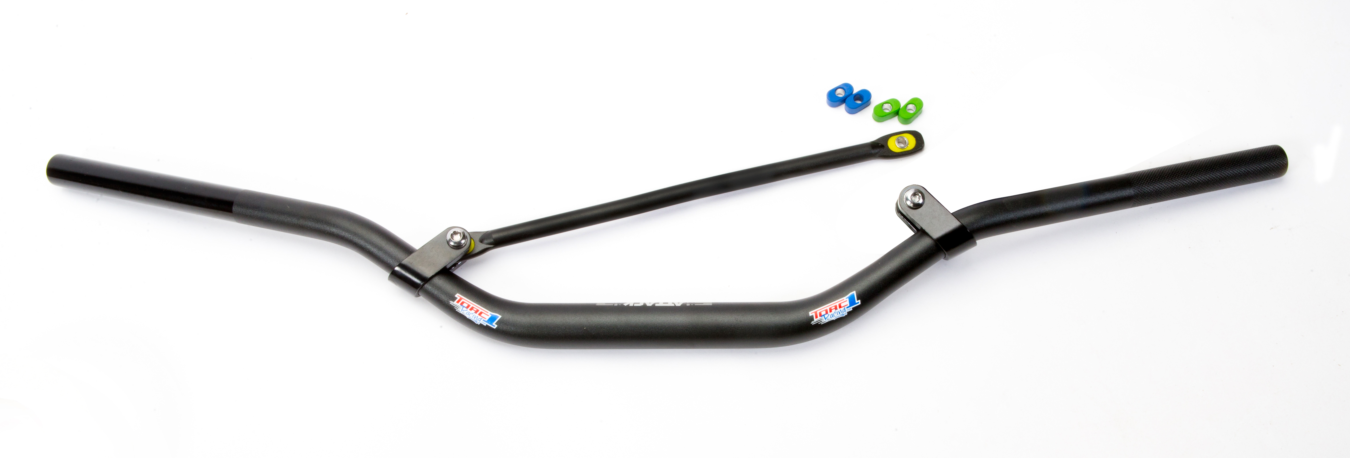 feature product  torc1 racing attack oversize flex crossbar handlebars