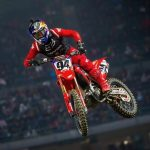 Roczen Moves into AMA Supercross Points Lead after Anaheim 2