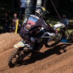 Jed Beaton finishes ninth at FIM MX return